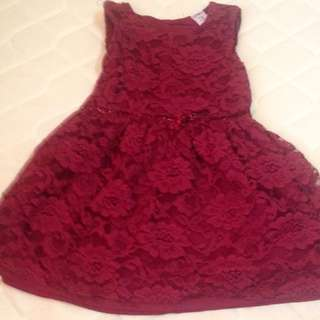 Carter's lace dress