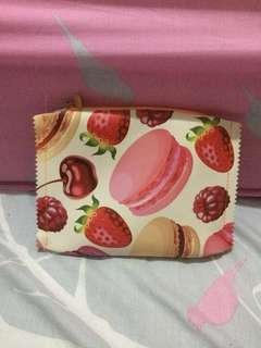 [PRELOVED] Pouch Pink Macaroon lucu