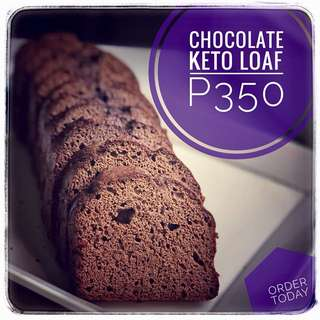 Ketogenic Chocolate Loaf