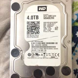 4TB WD harddrive for sale!!
