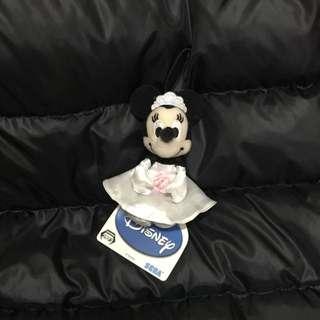 日本帶回迪士尼米妮娃娃吊飾