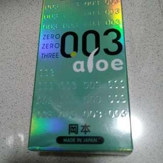 Okamoto aloe 0.03 (八片)