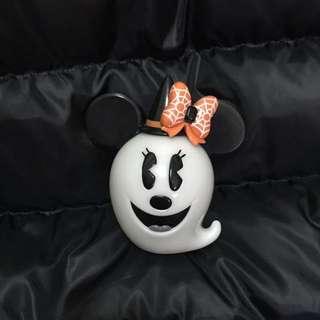 日本帶回迪士尼萬聖節米妮幽靈擺飾