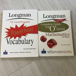 Brand New O Level Assessment Books ( set of 2 )