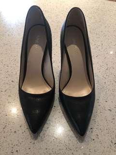 "Nine West ""Tatiana"" Leather Pumps"