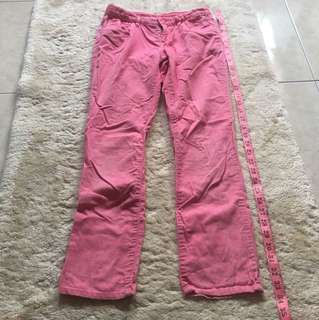 GapKids long pants pinggang 12inc panjang 33inc