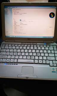 NEC notebook, Celeron M 1.3GHz, 1GB Ram, 40GB HDD, Win7 Home SimChi.