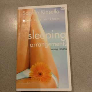 sleeping arrangement - sophie kinsella
