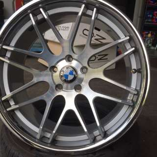 "Used 20"" bmw concave rims"