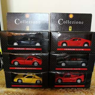 法拉利模型車 x 6