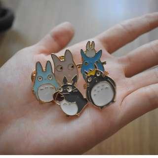 Totoro Pin Set of 5
