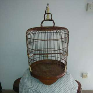 "Selling this old 19"" shama cage for $180 and free another 19"" cage (last picture)"