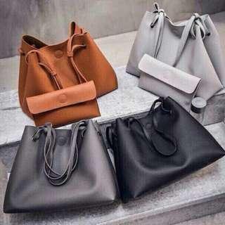 Korean Trending Bag w/ Wallet