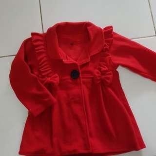 Mantel merah