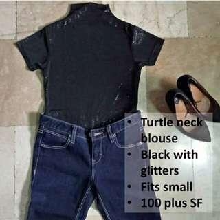 Turtle neck top
