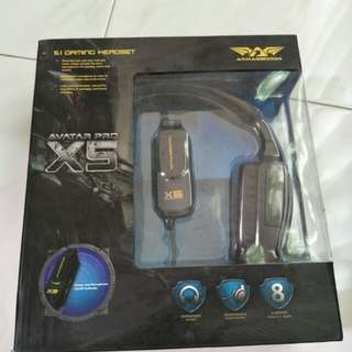 Armaggeddon Avatar Pro X5 5.1 Gaming Headset