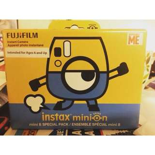 🚚 單機‼️追加到貨‼️ 全新 富士 拍立得 Fujifilm Minion Instax 小小兵 底片2選1