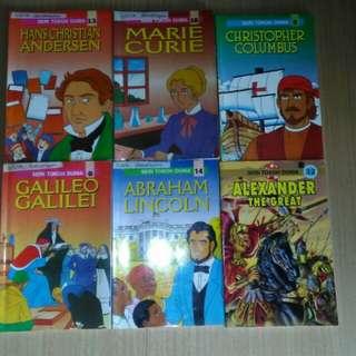 comic seri Tokoh Dunia
