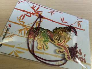 Horse Zodiac Bookmark