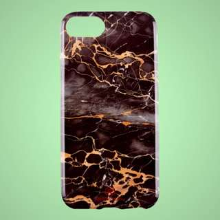 Dark Royal Marble Iphone Case