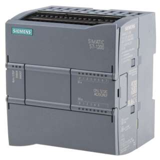 Siemens S7-1200 PLC CPU, Ethernet Networking Profinet Interface, 50 kB Program Capacity → 6ES7212-1BE40-0XB0