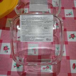 玻璃保鮮盒×2只