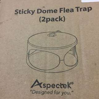 Sticky Dome Flea Trap