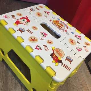日本麵包超人Anpanman兒童成人卡通加厚便携輕便户外摺櫈