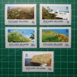 1981 皮特凱恩群島 本地風光 新票一套