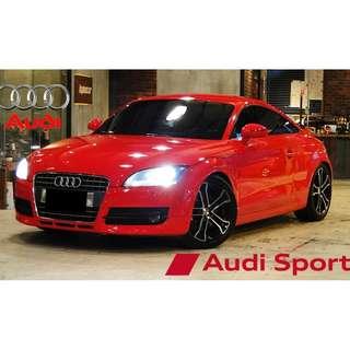 誠心買賣彼此互相有誠意最重要 2008年 全車原版件 AUDI TT COUPE 精品升級 100%完整度 可德國萊茵檢驗