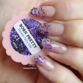 BORN PRETTY Flower Fairy Nail Gel 5g 6 Colors Available Floral Soak Off UV Gel Manicure Nail Art UV Gel