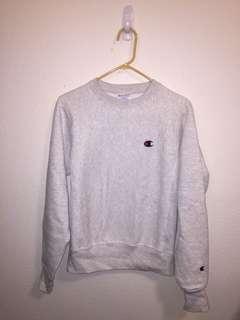 Champion Sweatshirt / Pullover - Light Grey