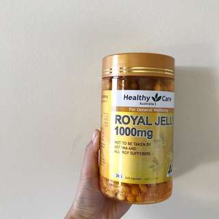 Healthy and care royal jelly 1000mg 蜂王膠 澳洲代購