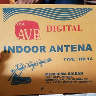 Antena tv/ anten/ anten dalam