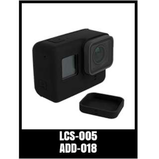 GP LENS COVER FOR HERO5 LCS-005  Silicone Protective Case Cover