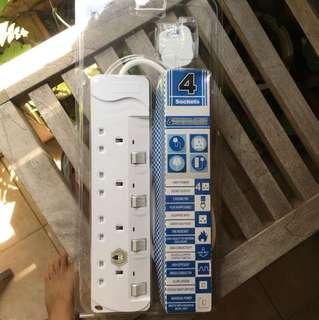 Power strip mint 4 plug