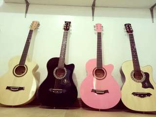 Arena, Knight, Davis Acoustic Guitar