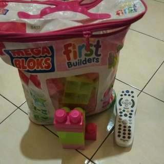 Mega blocks 60 pcs