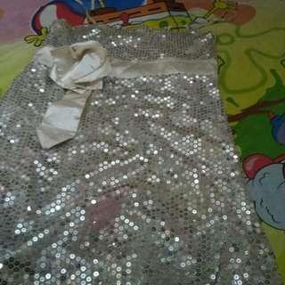 Mini dress sequin