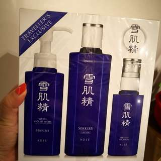 Kose Liquid Wash/Lotion/Emulsion (Unopened, Brand New!!)