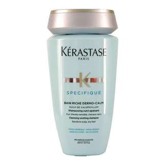 Kérastase Spécifique Dermo-Calm Bain Riche Cleansing Smoothing Shampoo (Sensitive Scalp, Dry Hair) 250ml