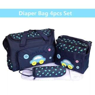 4-in-1 Baby Diaper bag