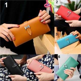 Women PU Leather Purse Wallet