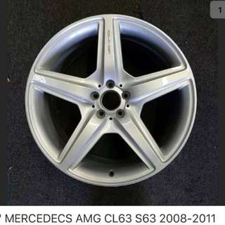Mercedes W221 S63 original rims