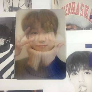 [WTT/WTS] SEVENTEEN THE8 DIRECTOR'S CUT LENTICULAR CARD