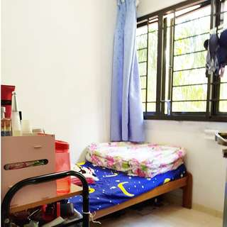 205 Ang Mo Kio Ave 1 (Small Bedroom)  - MRT / Super Market / Food Center With Wifi , Female Only