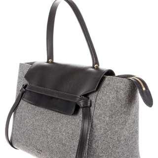 Celine felt belt bag large size
