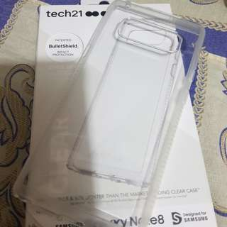 Original Tech21 Clear Case for Galaxy Note8