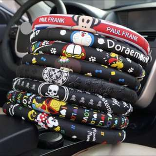 [PO] Cartoon Character Steering Wheel Cover