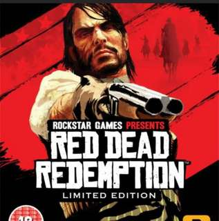 Red Deed Redemption PS3 Game FULL BOX
